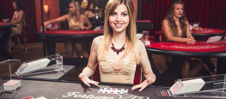 The syllogism behind live dealer blackjack at online casinos.