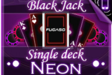 How to Play Neon Single-Deck Blackjack, the Best Paying 21 Game by Fugaso