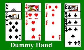 How to Play Bridge Dummy Hand