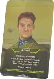 Coup Socialist Card