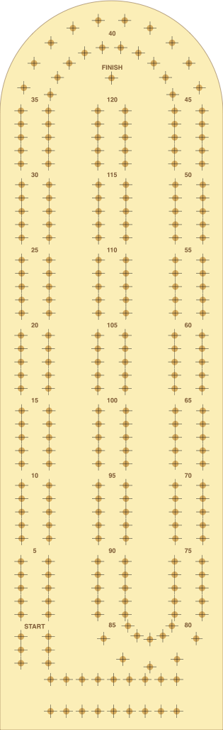 Cribbage Template | Ideas How To Make A Diy Cribbage Board