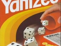 Evaluation of the average score in a Yahtzee game, compared to the best case scenario we'll probably never see in our lifetime.