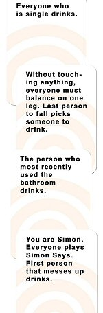 These Cards Will Get You Drunk Sample Cards