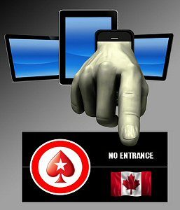 Why Canadians Can't Access PokerStars for Real Money Poker