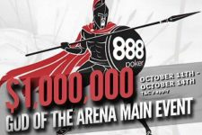 888Poker will host the $1,000,000 GTD God of the Arena Main Event.
