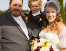 Casey Jarzabeck with Wife Christine and Son Eric