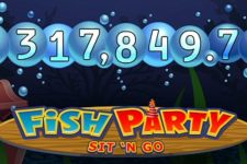 Microgaming's Fish Party SNG pays record €317k progressive jackpot.