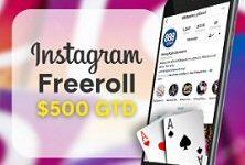 Gain entry to 888 Poker freeroll tournaments via social media.