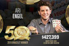 Toronto Poker Pro Ari Engel Picks Up First Gold + $427k at WSOP
