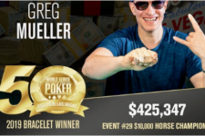 Third Time's the Charm for Greg Mueller in 2019 WSOP