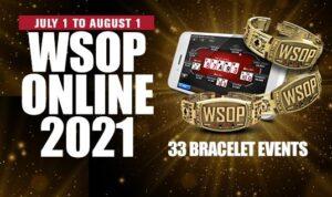 2021 WSOP Online Schedule Released
