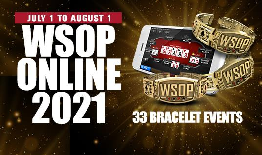 Find Out Who Can Play 2021 WSOP Online Bracelet Events