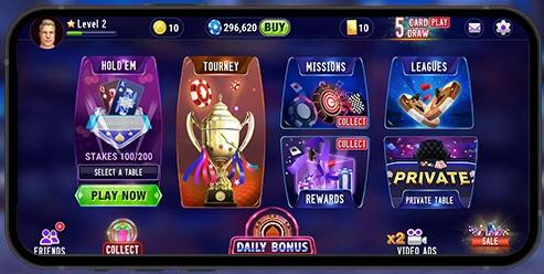 Octro 3D Poker for Mobile
