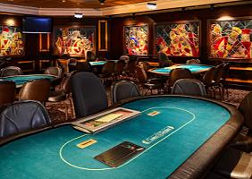 Poker Tables at Casino Regina