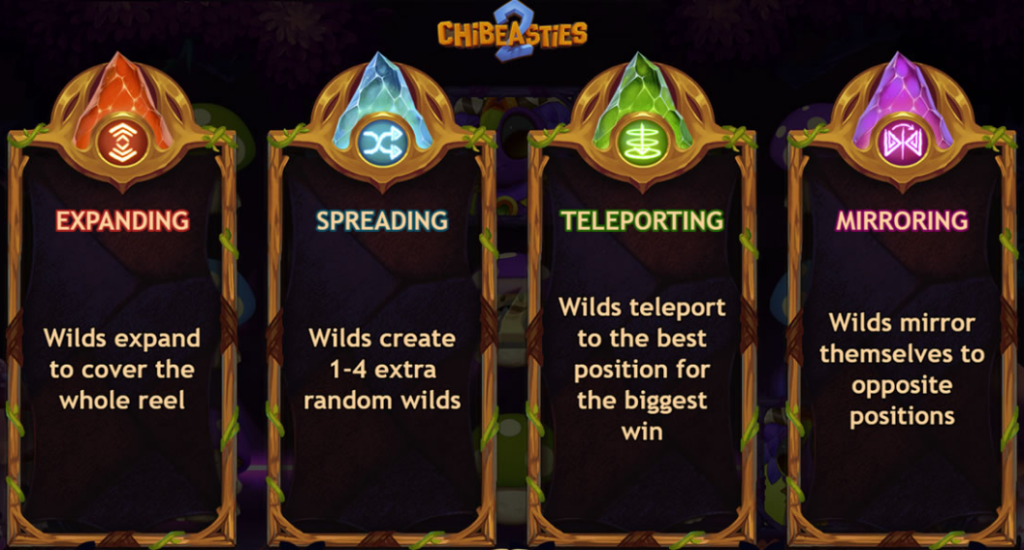 Chibeasties Slot 2 Feature Realms