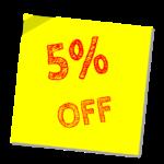 5% Casino Commission