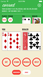 Practice Real Money Blackjack App for Android