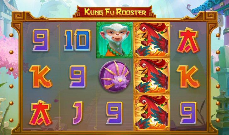 Kung Fu Rooster Slot Screenshot