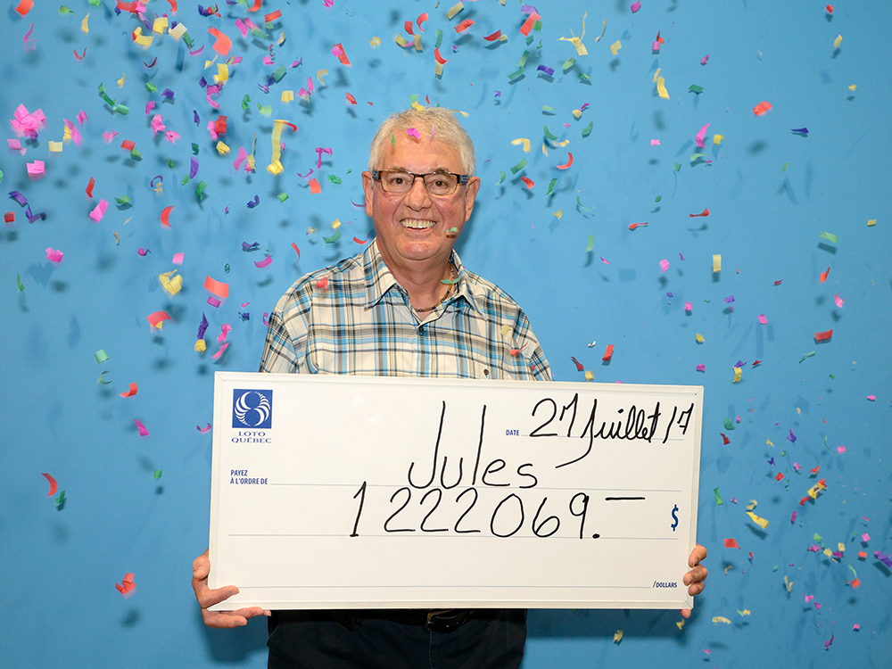 2x Quebec Lottery Winner Jules Parent