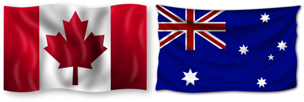 Australia and Canada Sports Betting