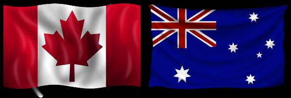 Australia and Canada Sports Betting