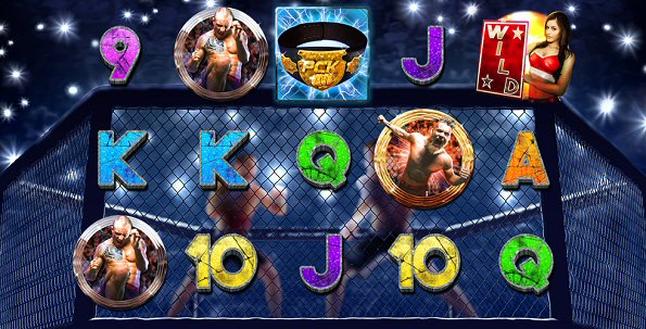 Primetime Combat Kings Slot Screenshot