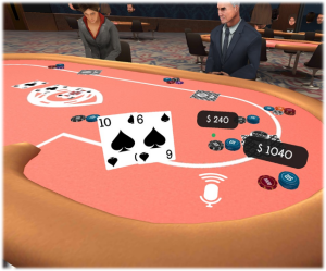 Virtual Reality Gambling - VR Poker