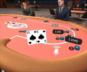 Virtual Reality Gambling - VR Poker