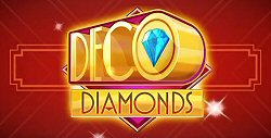 New Deco Diamonds Slot by JFTW on Microgaming