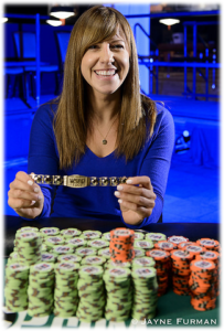 Kristen Bicknell 2017 Female Poker Player of the Year