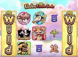 Lucky Little Gods Free Spins Feature