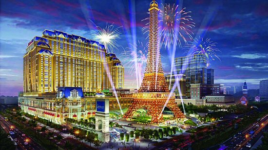 The Parisian Macau on the Cotai Strip