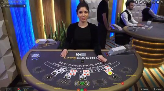 BCLC Live Casino Games - Blackjack