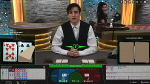 Live Casino Tables Baccarat eSqueeze