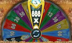 Microgaming online slots Diamond Empire Wheel Bonus