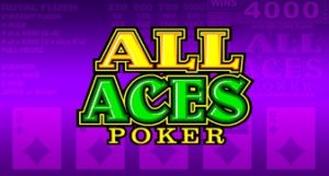 Lowest House Edge Casino Games Online All Aces Video Poker