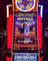 Buffalo Slot Machine teaches us how to win a progressive jackpot outside Vegas