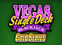 Vegas Single Deck Blackjack Microgaming