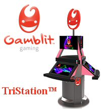 Gamblit Gaming TriStation Skill-Based Gambling Games
