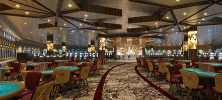 Rending of Expanded Casino at Hard Rock Ottawa Casino