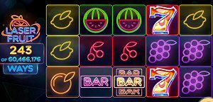 Laser Fruit Slot from Red Tiger 60m Ways to Win Slots