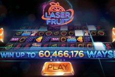 Laser Fruit 60 Million Ways to Win Online Slots