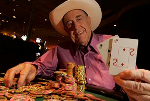 Poker Legend Doyle Brunson and his favorite hand, 10-2