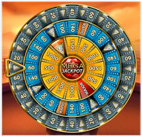 Mega Fortune Dreams Bonus Wheel Game