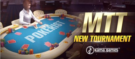 New Poker Game Format MTT on Pokerist