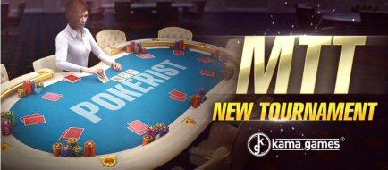 New Poker Game Format MTT on Pokerist