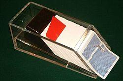 Blackjack Shoe Cut Card