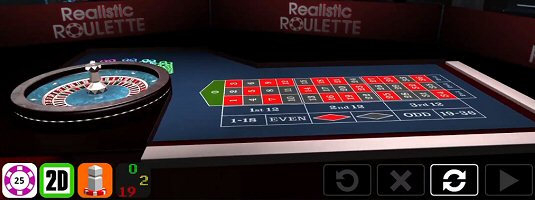 Realistic Roulette