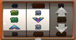 New Classic Fruit Machine Swipe and Roll Bonus Game