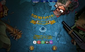 Zombie Online Blackjack by Genesis Gaming